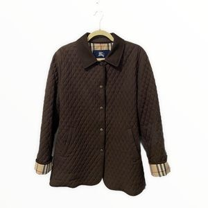 Burberry London Brown Quilted Jacket